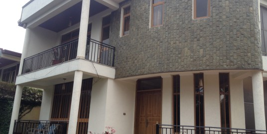 Fully Furnished House For Rent in Addis Ababa, Sunshine Area