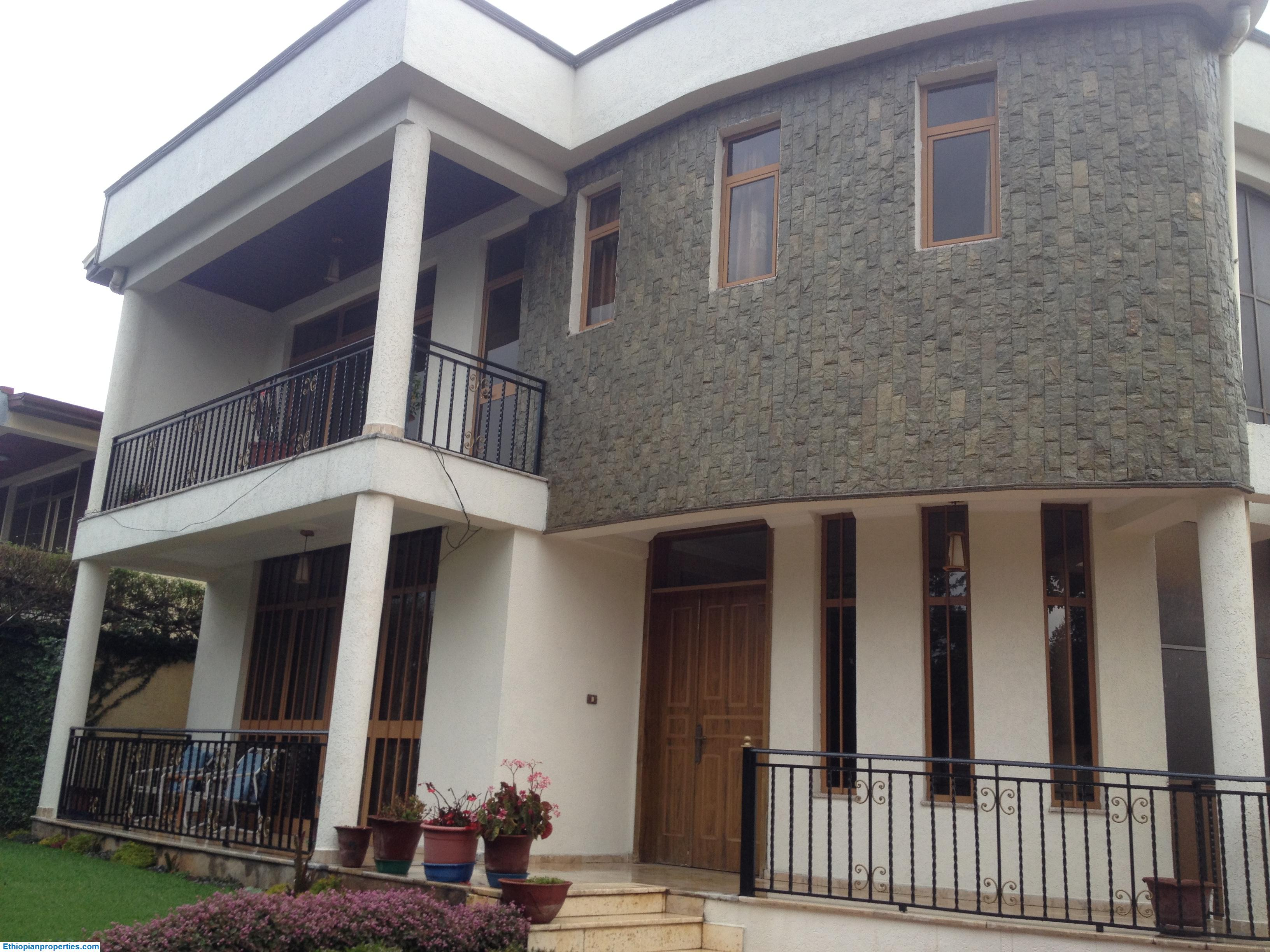 Fully Furnished House For Rent in Addis Ababa Sunshine Area