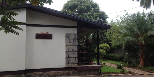House with great garden for rent in Bole, Addis Ababa