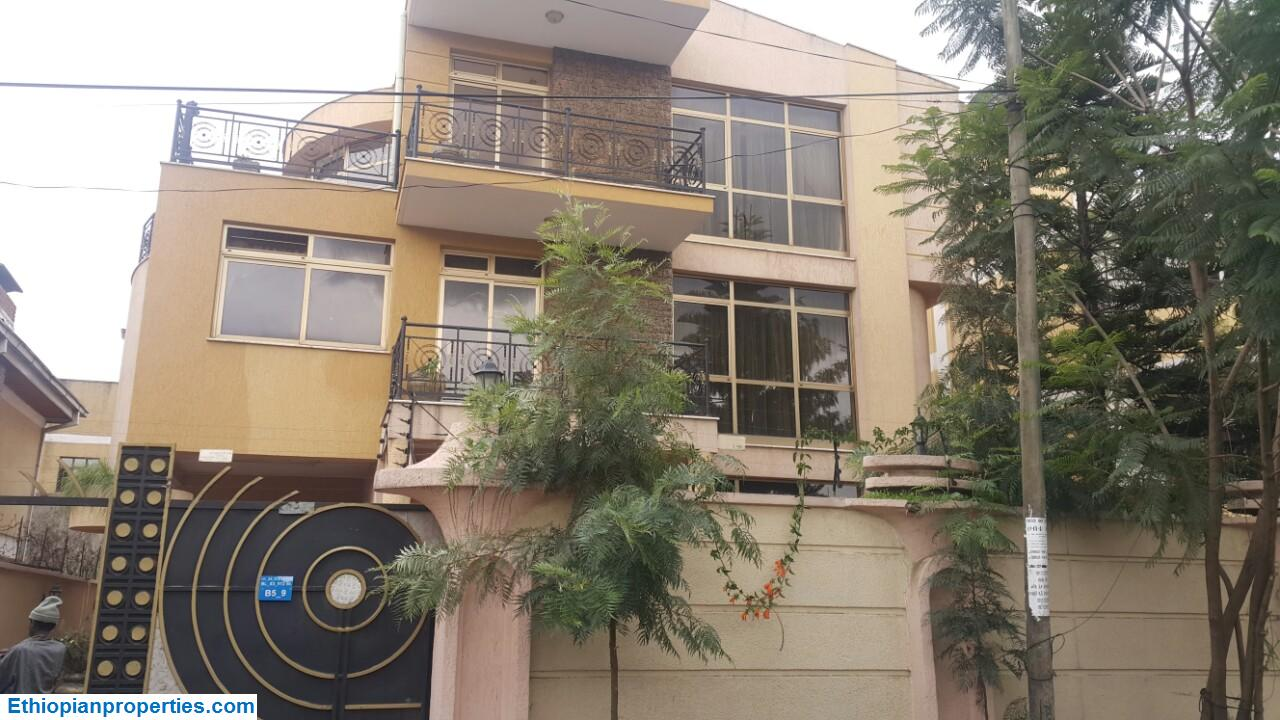 Solidly Built Basement+G+2 House for Rent in Bole