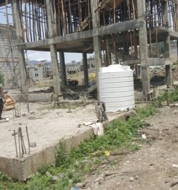 Unfinished G+3 House for Sale in Lebu
