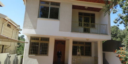 G+1 House for Rent in a gated community in Bole