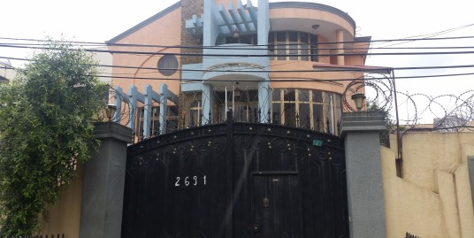 G+2 House For Let in Old Airport, Addis Ababa